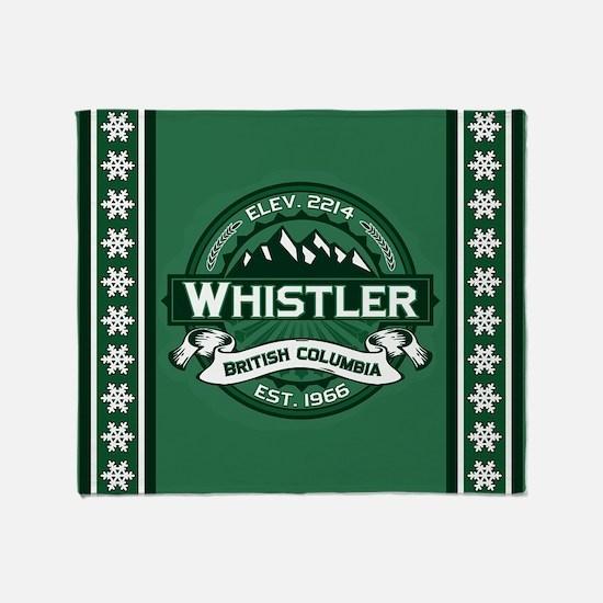 Whistler Forest Throw Blanket