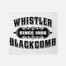 Cute Whistler blackcomb Throw Blanket