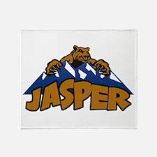 Jasper Bear Mountain Throw Blanket