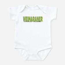 Weimaraner IT'S AN ADVENTURE Infant Bodysuit