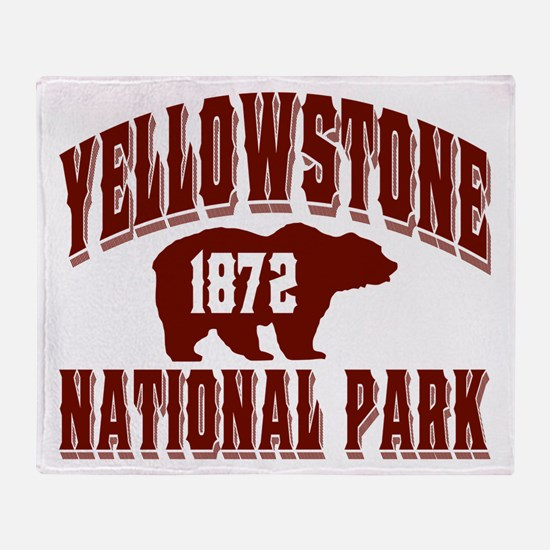 Yellowstone Old Style Vermill Throw Blanket
