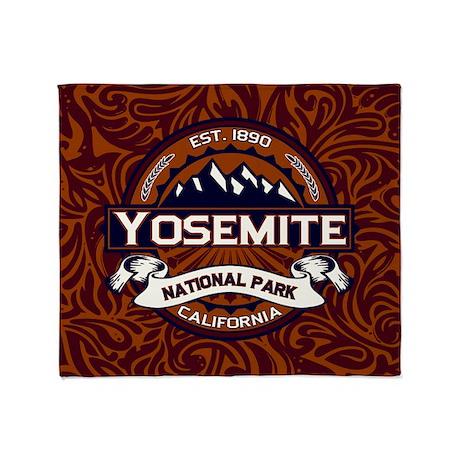 Yosemite Vibrant Throw Blanket