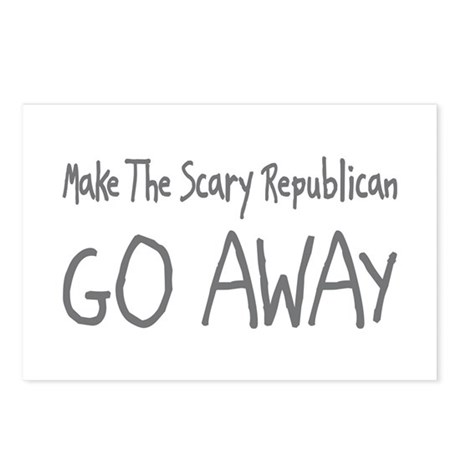 Scary Republican Postcards (Package of 8)
