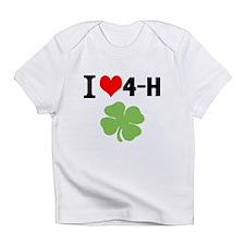 I Heart 4-H Infant T-Shirt
