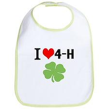 I Heart 4-H Bib