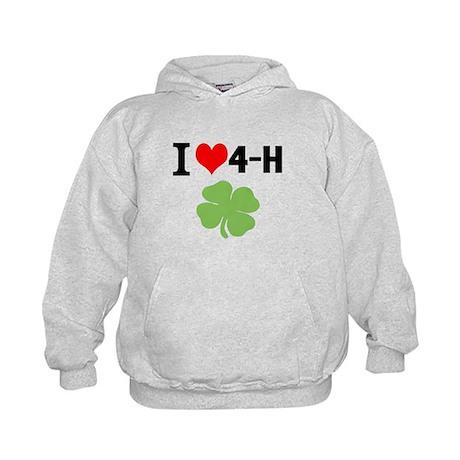I Heart 4-H Kids Hoodie