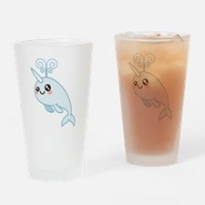 Narwhal Cutie Drinking Glass