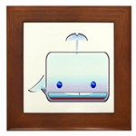 Boxy the Whale Framed Tile