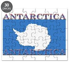 Antarctica Flag Puzzle