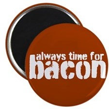 Time for Bacon Magnet