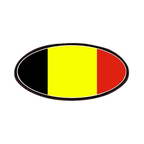 Belgium Flag Blank Patches