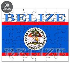 Belize Belizean Flag Puzzle