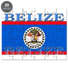 Belize Belizean Flag Puzzle
