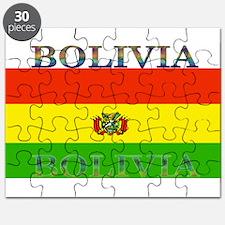 Bolivia Bolivian Flag Puzzle