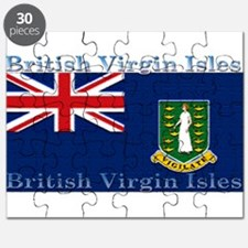 British Virgin Islands Flag Puzzle