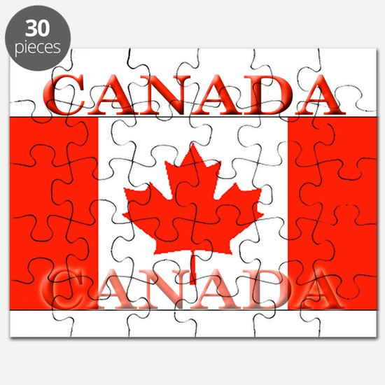 Canada Canadian Flag Puzzle