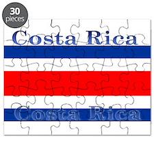 Costa Rica Costa Rican Flag Puzzle