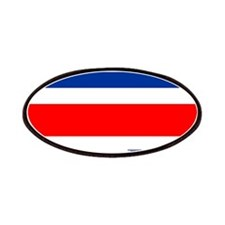Costa Rica Costa Rican Flag Patches