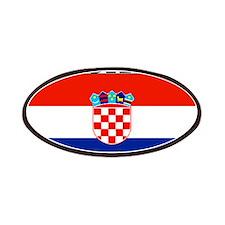 Croatia Croatian Flag Patches