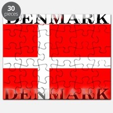 Denmark Danish Flag Puzzle