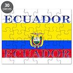 Ecuador Ecuadorian Flag Puzzle
