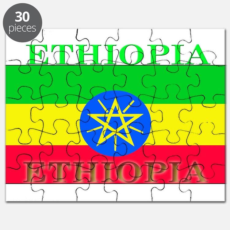 Ethiopia Ethiopian Flag Puzzle