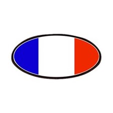 France French Blank Flag Patches