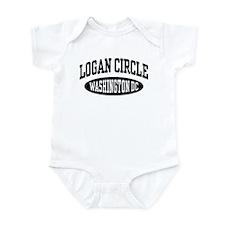 Logan Circle Washington DC Infant Bodysuit