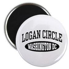 Logan Circle Washington DC Magnet
