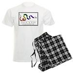 Rainbow JOIN, or DIE. Men's Light Pajamas