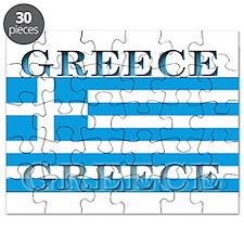 Greece Greek Flag Puzzle