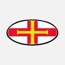 Guernsey Blank Flag Patches