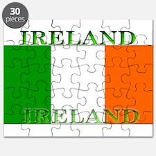 Ireland Irish Flag Puzzle