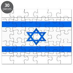 Israel Jewish Flag Puzzle