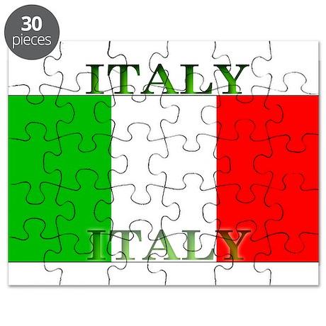 Italy Italian Flag Puzzle