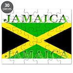 Jamaica Jamaican Flag Puzzle