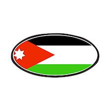 Jordan Jordanian Blank Flag Patches