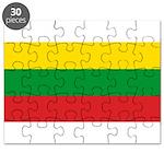 Lithuania Lithuanian Flag Puzzle