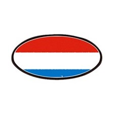 Luxembourg Flag Patches