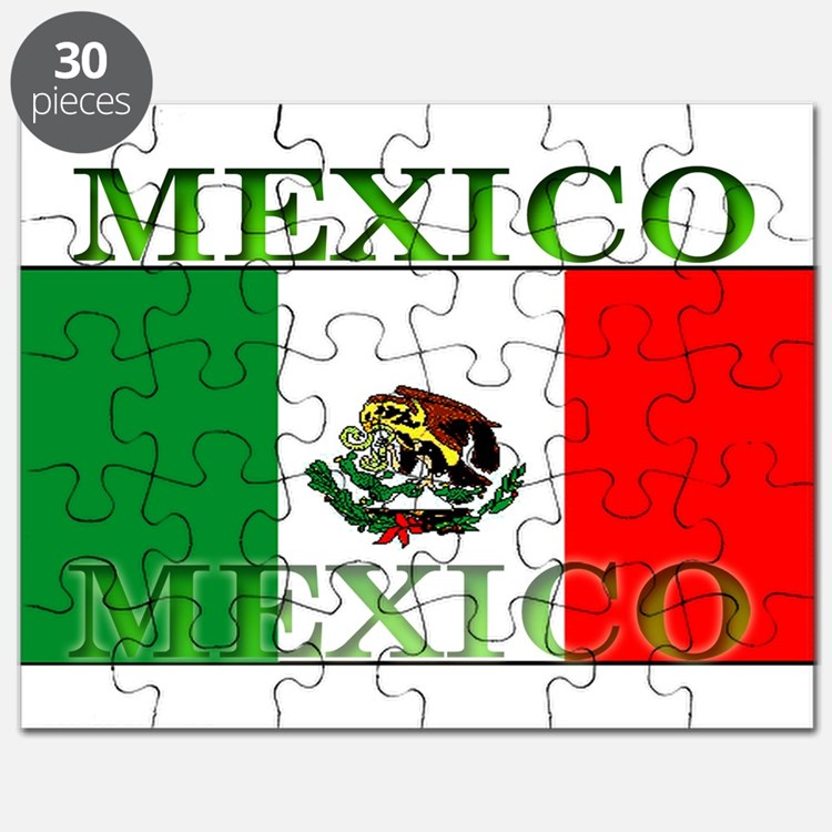 Mexico Mexican Flag Puzzle