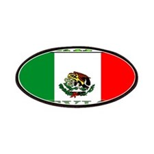 Mexico Mexican Flag Patches
