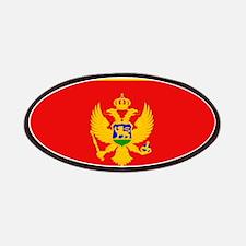 Montenegro Montenegrin Flag Patches