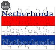 Netherlands Dutch Flag Puzzle
