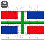 'Groningen Gronings Blank Fla Puzzle