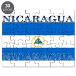 Nicaragua Nicaraguan Flag Puzzle
