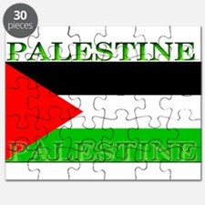 Palestine Palestinian Flag Puzzle