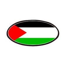 Palestinian Blank Flag Patches