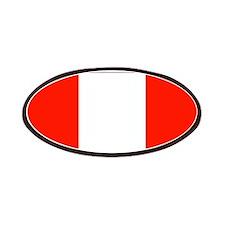Peru Peruvian Flag Patches