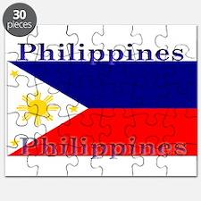 Philippines Filipino Flag Puzzle