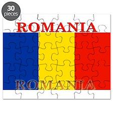 Romania Romanian Flag Puzzle